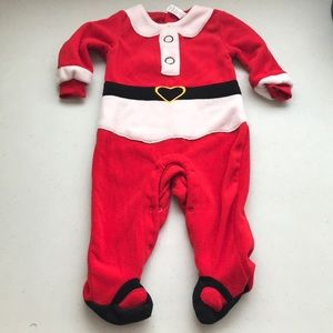 5/$25 GEORGE Santa Suit Pyjamas Back Snaps